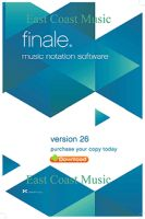 MakeMusic Finale 26 Academic (Download)